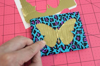 Use stencils to make cutting out the shapes easier.