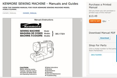 how to oil a kenmore sewing machine with pictures ehow rh ehow com kenmore 385 sewing machine user guide kenmore sewing machine owner manual model 385