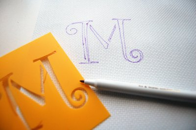 Embroidery stencil