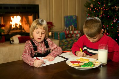 Create a cozy, festive environment for kids while they write letters to Santa.