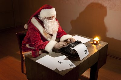 Kids will be delighted to get a letter from Santa.