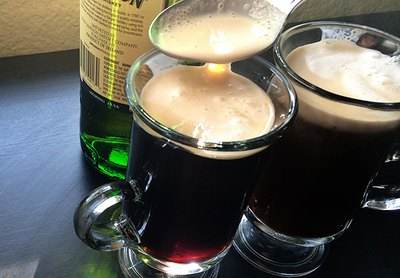 Whiskey, sugar and Irish cream add sweetness and richness to your coffee.