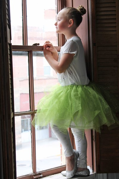 Tutus make great costumes for portraits.