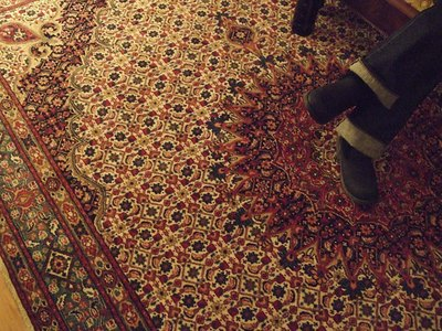Fit the rug to the room.