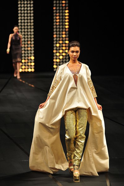 Runway fashion in Manila