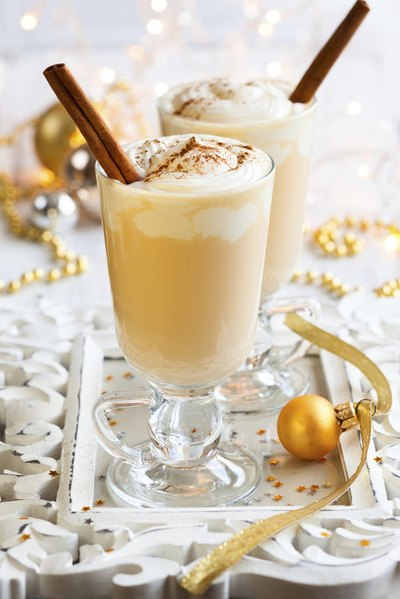 eggnog is another holiday tradition