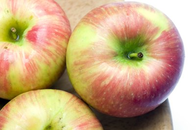 Honeycrisp apples.