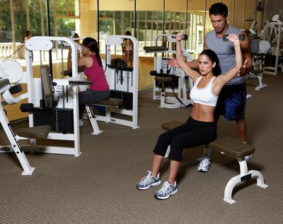 gym workout routines to lose weight with pictures  ehow