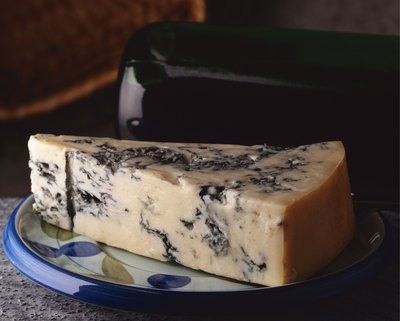 Gorgonzola is one variety of blue cheese.