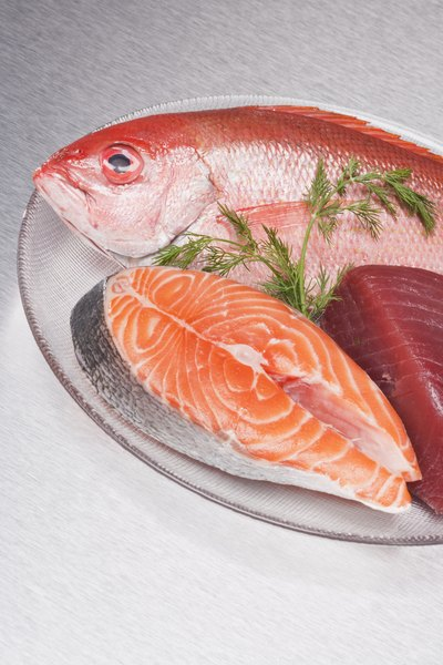 A wide variety of fish are available in a number of different cuts.