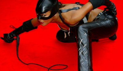Catwoman ready to strike