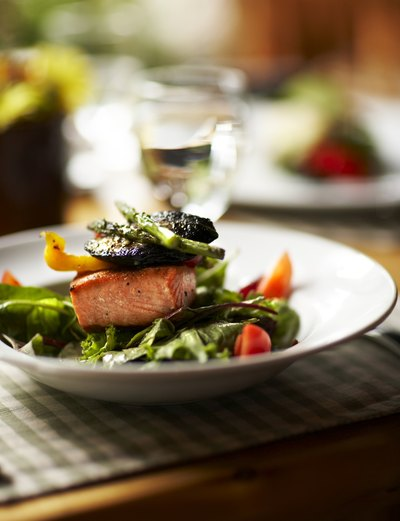 Salmon is one of the easiest, and healthiest, main dishes.