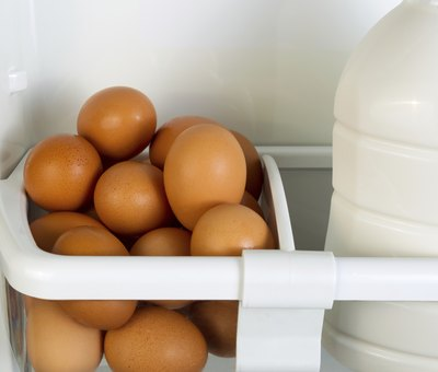 Hard boiled eggs should be cooled and refrigerated within two hours of cooking.