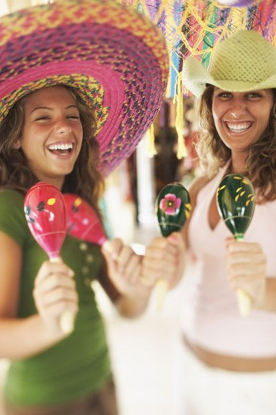 Making maracas can be a fun craft project for kids