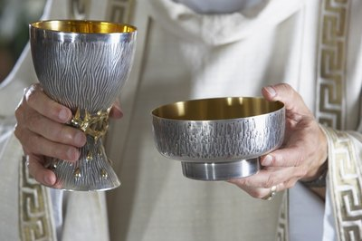 A chalice, like might be used for Communion.