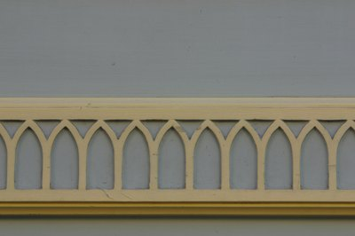 Decorative wall molding.