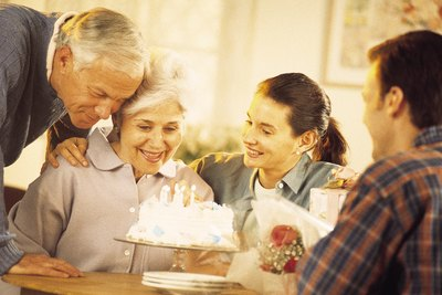 Many woman look forward to celebrating their 65 birthdays.