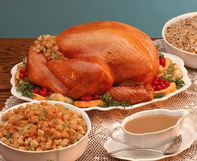 Turkey and stuffing are a classic combo.