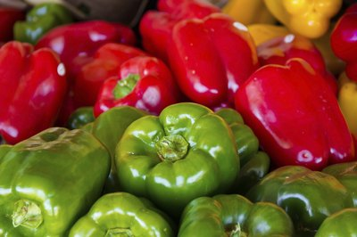 All peppers are green at first, turning color as they mature.