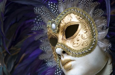 You might have a theme such as a Mardi Gras masquerade party.