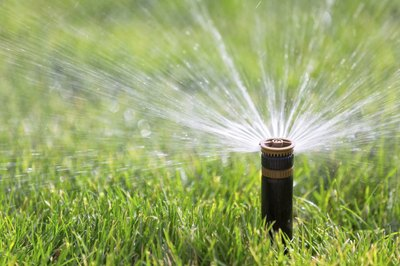 An automatic sprinkler.