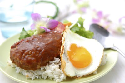 Loco Moco is a local plate lunch.