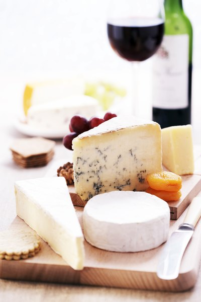Many French cheeses have become popular in America.