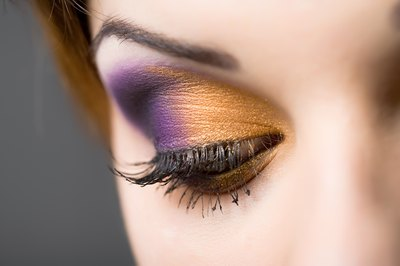 Colorful, creative eyeshadow