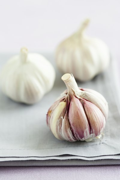 Fresh garlic is better tasting, and better for you.
