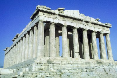 The Parthenon in Athens is a Doric style temple.