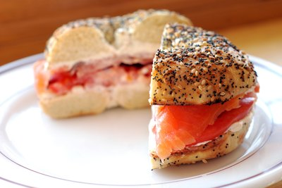 Lox is a staple in Ashkenazic Jewish cuisine.