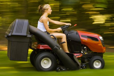 There are two HA riding mowers from Honda.