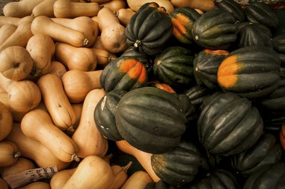 You can store squash up to a month.