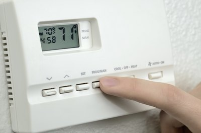 Lower your thermostat to save on heating costs.