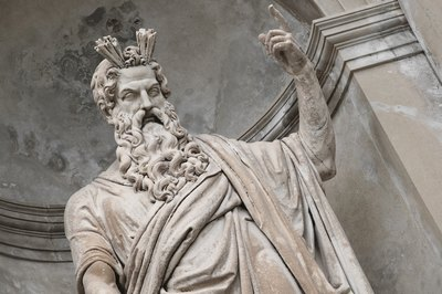 Zeus was the Greek god of thunder.