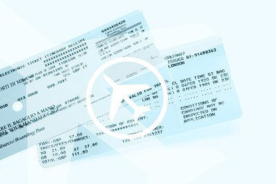 Airline tickets.