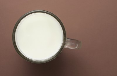 A warm glass of milk at bedtime can help you go to sleep.