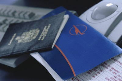 Travel documents.