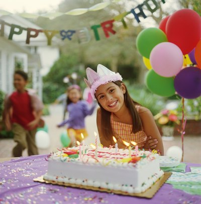 An 11th year birthday party can make her feel special with the right planning.