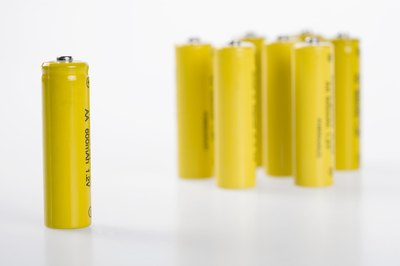 Wrap up a set of AA batteries.