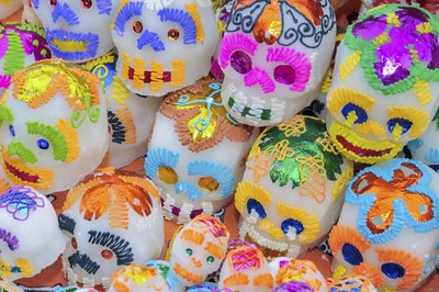 Sugar Skulls for The Day of The Dead.