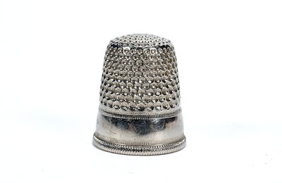 Colonial thimbles were clunkier than those that modern seamstresses use.