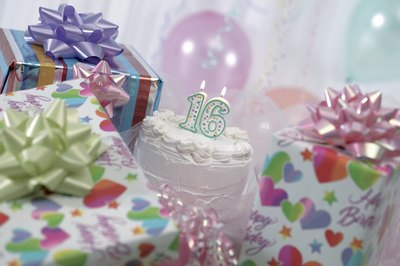 A sweet 16 can be a simple affair or an extravaganza.