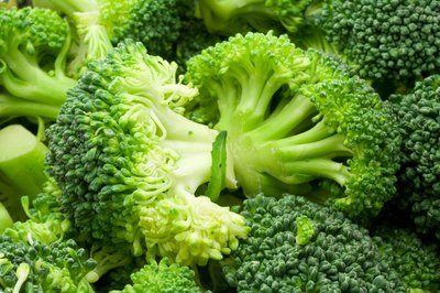 broccoli florets are a healthy option to include