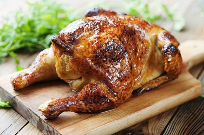 It is important to cook chicken until thoroughly done to avoid illness.