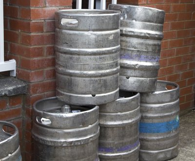 Kegs are the simplest method for transporting large quantities of beer.