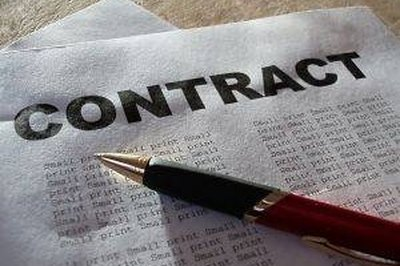 A builder's contract, you, your client