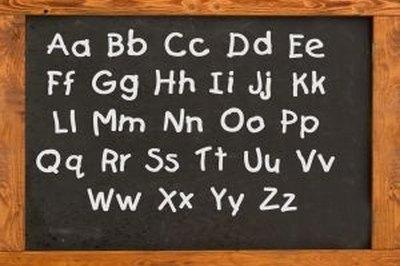 Write Alphabet Letters