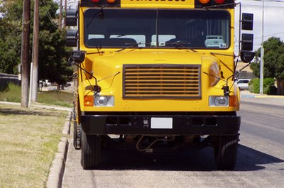 Driving school buses requires a CDL license.
