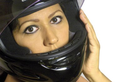 You're required to wear a helmet when you're on a motorcycle in Canada.